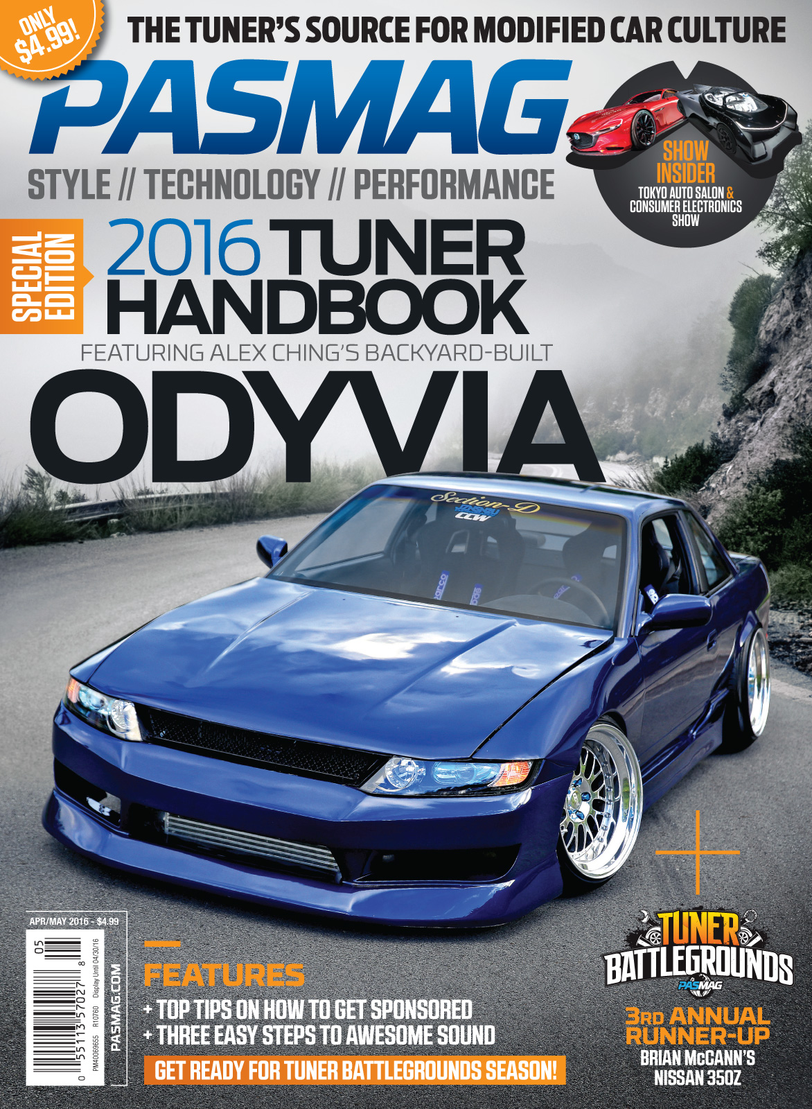 PASMAG 136 April May Cover USA
