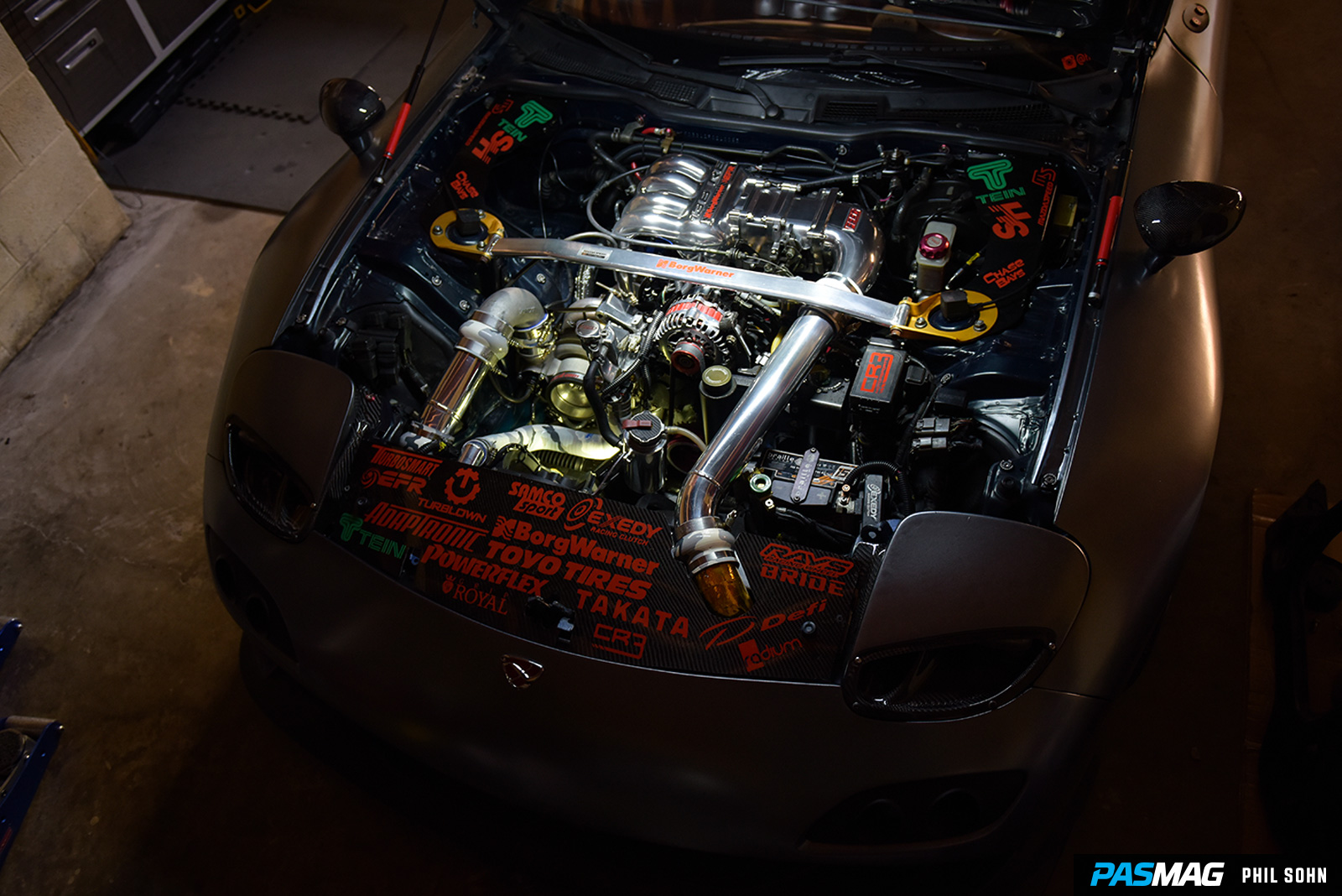 Pasmag Performance Auto And Sound Rotary Frankenstein Phil Wiring Harness Rx7 Fd Sohn 1993 Mazda Fd3s 41