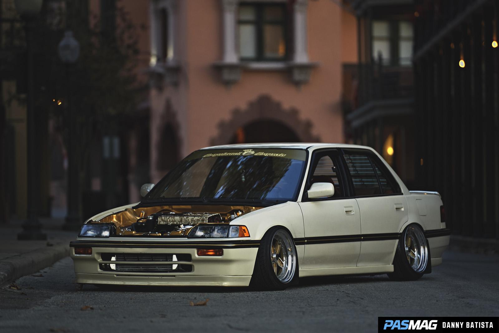 Exceptional PASMAG | PERFORMANCE AUTO AND SOUND   Goldy: Jud Lagunasu0027 1990 Honda Civic