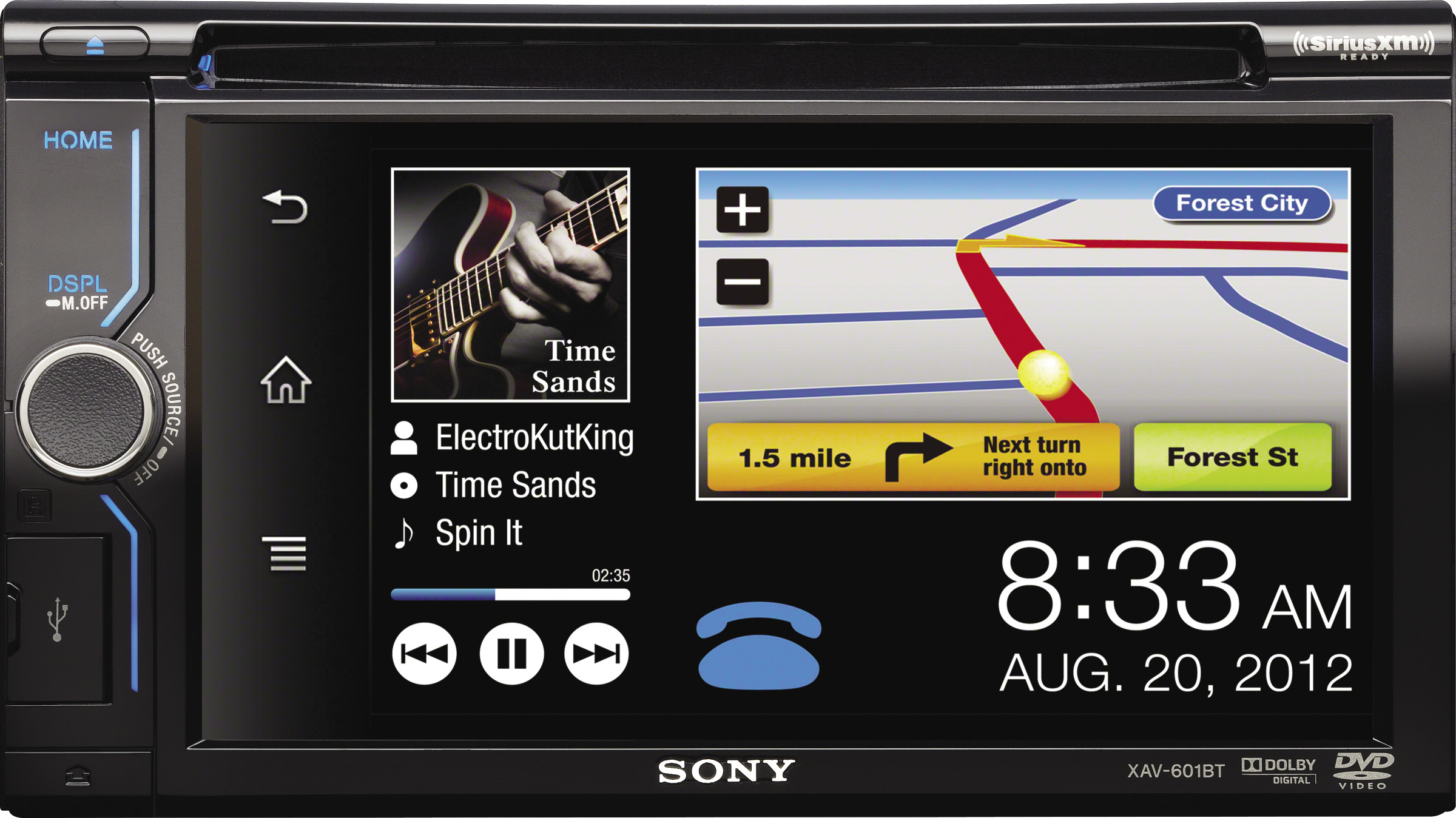 Pasmag Performance Auto And Sound Sony Xav 601bt Dvd Receiver Review Wiring Diagram