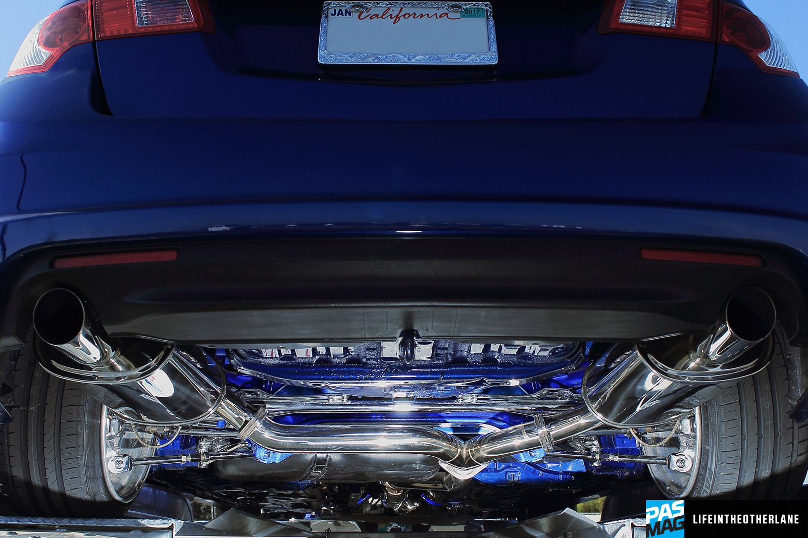 PASMAG PERFORMANCE AUTO AND SOUND All In The Details Ira Alani - Acura tsx exhaust