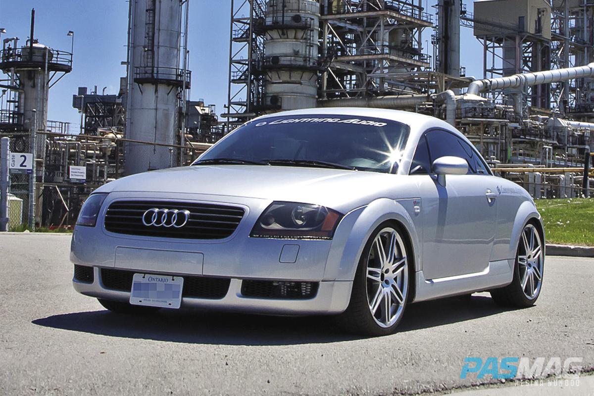 PASMAG PERFORMANCE AUTO AND SOUND Sleeping Beauty Audi TT - 2002 audi tt