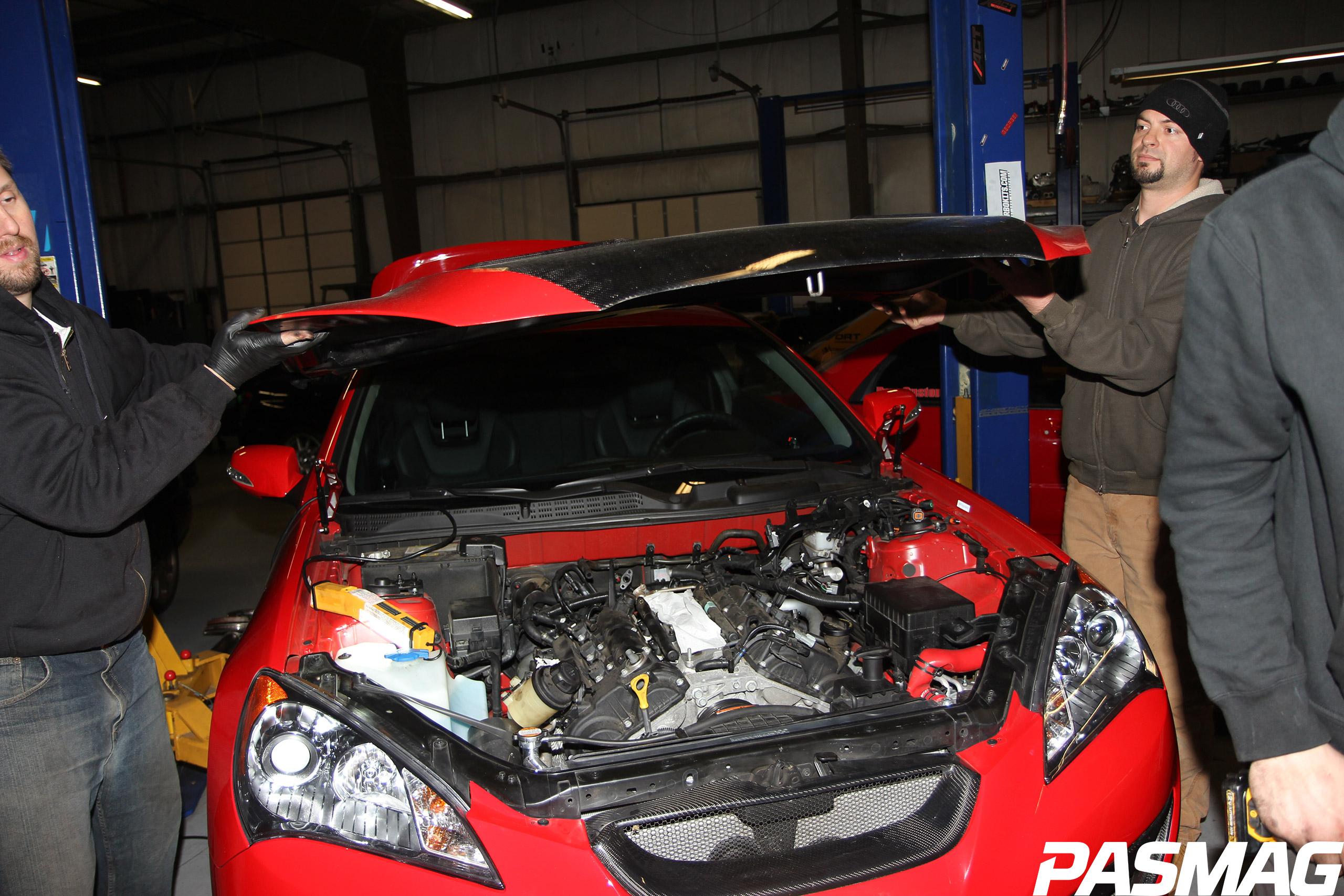 Hyundai Genesis Coupe 3.8L Turbo Kit Install