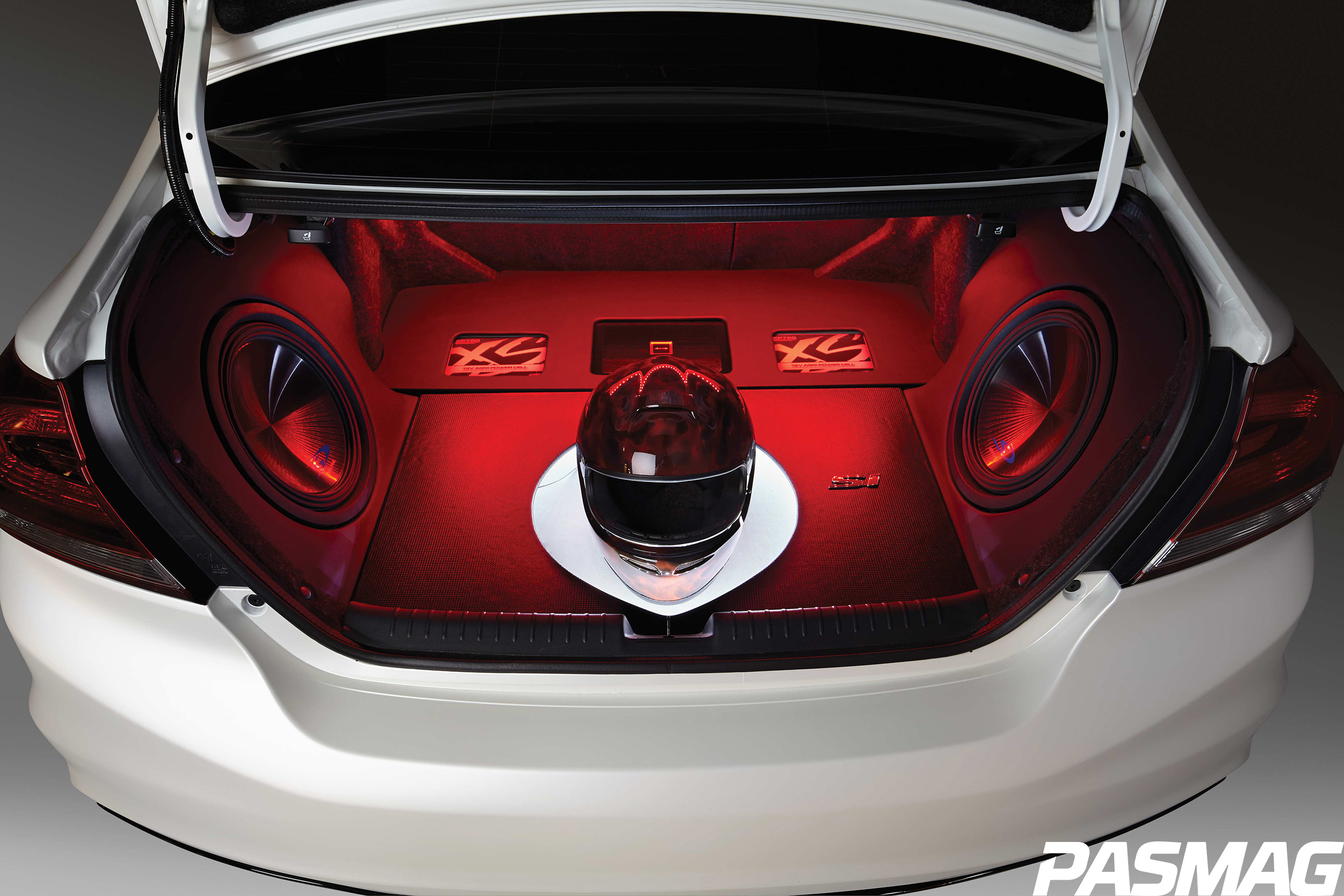 Pasmag performance auto and sound tuned by honda 2013 for Honda civic trunk