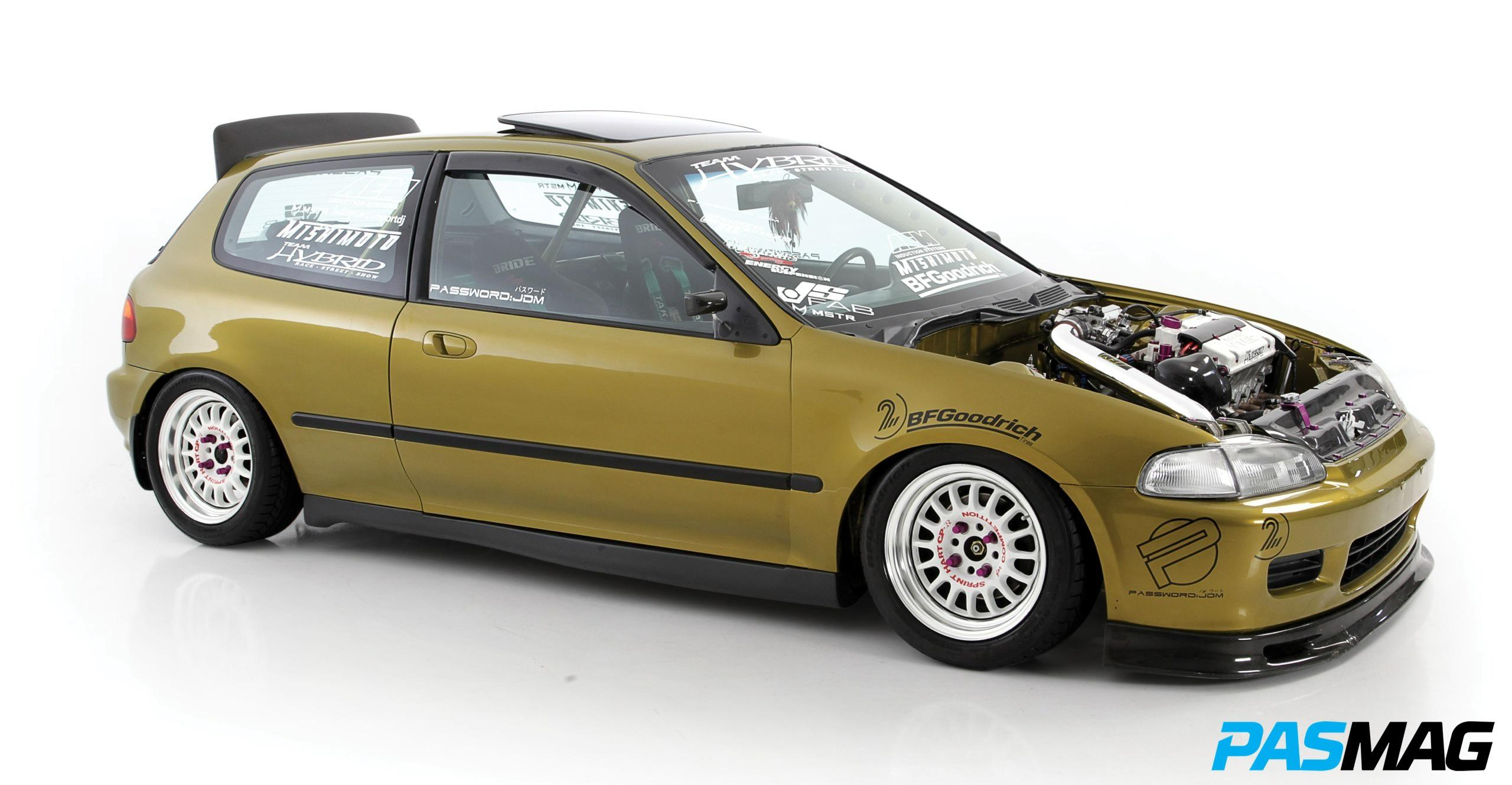 Pasmag Performance Auto And Sound The Golden Rule Brian 1992 Honda Civic Spindle Camachos Si