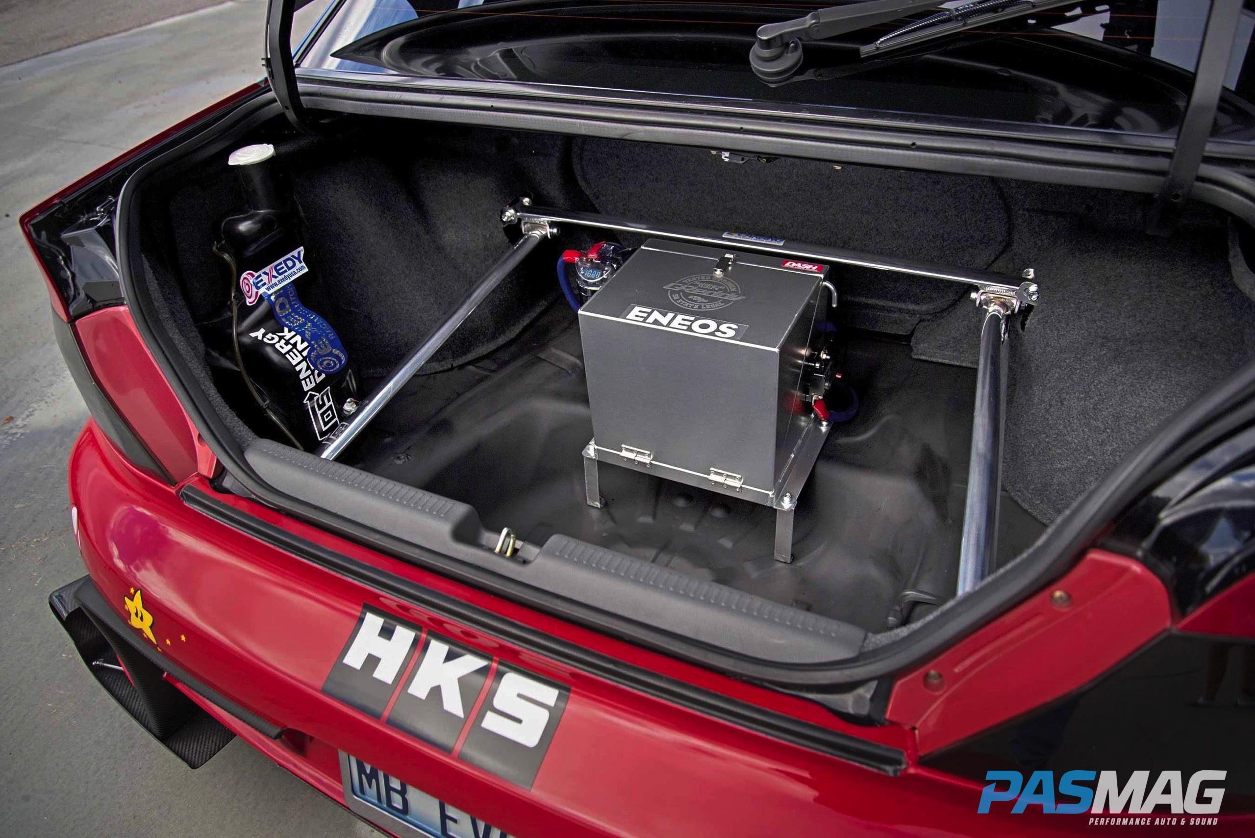 Retirement Plan: Mark Buffington's Mitsubishi Evo 8