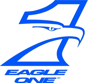 eagle one blue logo