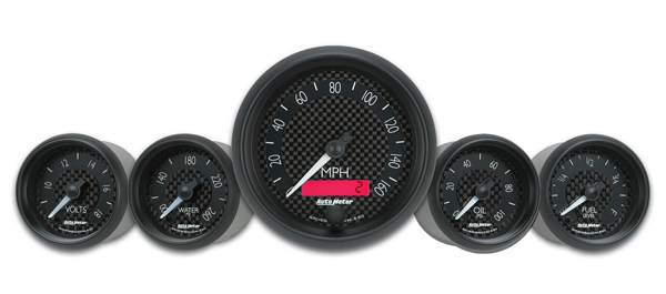 New Auto Meter GT Series Gauges