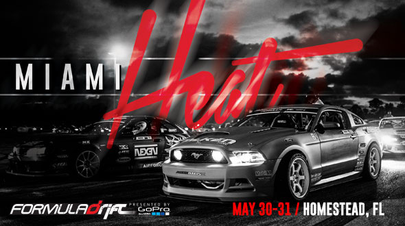 PASMAG FormulaDRIFT Round 3 Miami Florida Heat May 2014 event