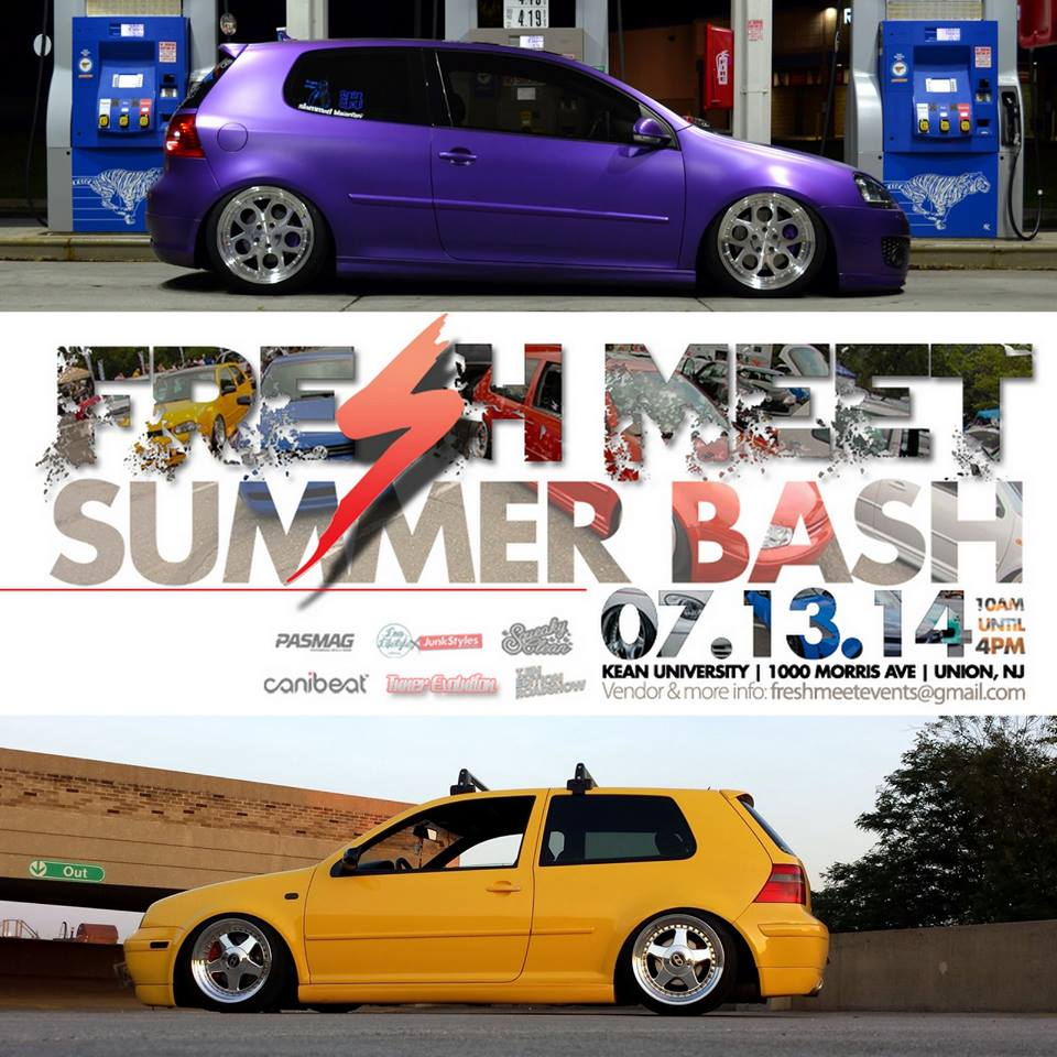 PASMAG Fresh Meet Summer Bash Union New Jersey July 13 2014 Event Photo Calendar European Cars VW Audi