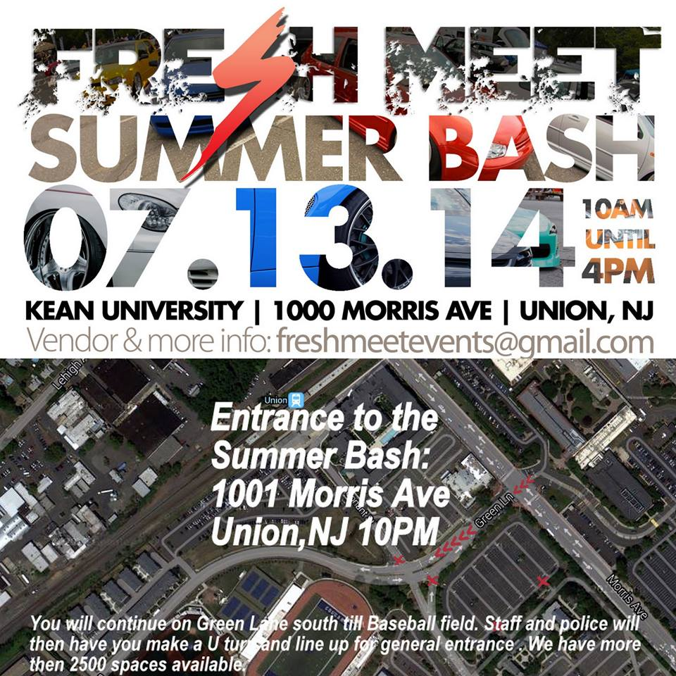 PASMAG Fresh Meet Summer Bash Union New Jersey July 13 2014 Event Photo Calendar Gate Schedule