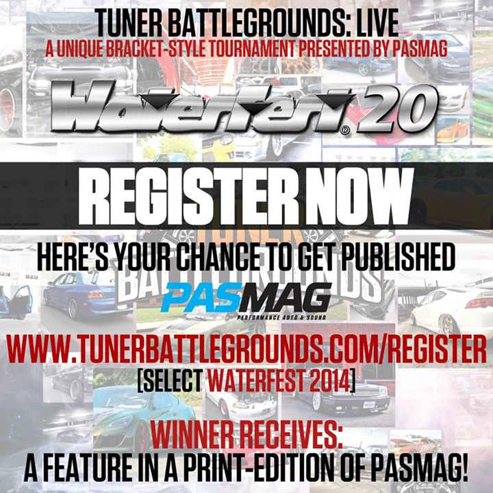 PASMAG Waterfest 20th Anniversary Raceway Park Englishtown New Jersey July 19 20 2014 Tuner Battlegrounds LIVE