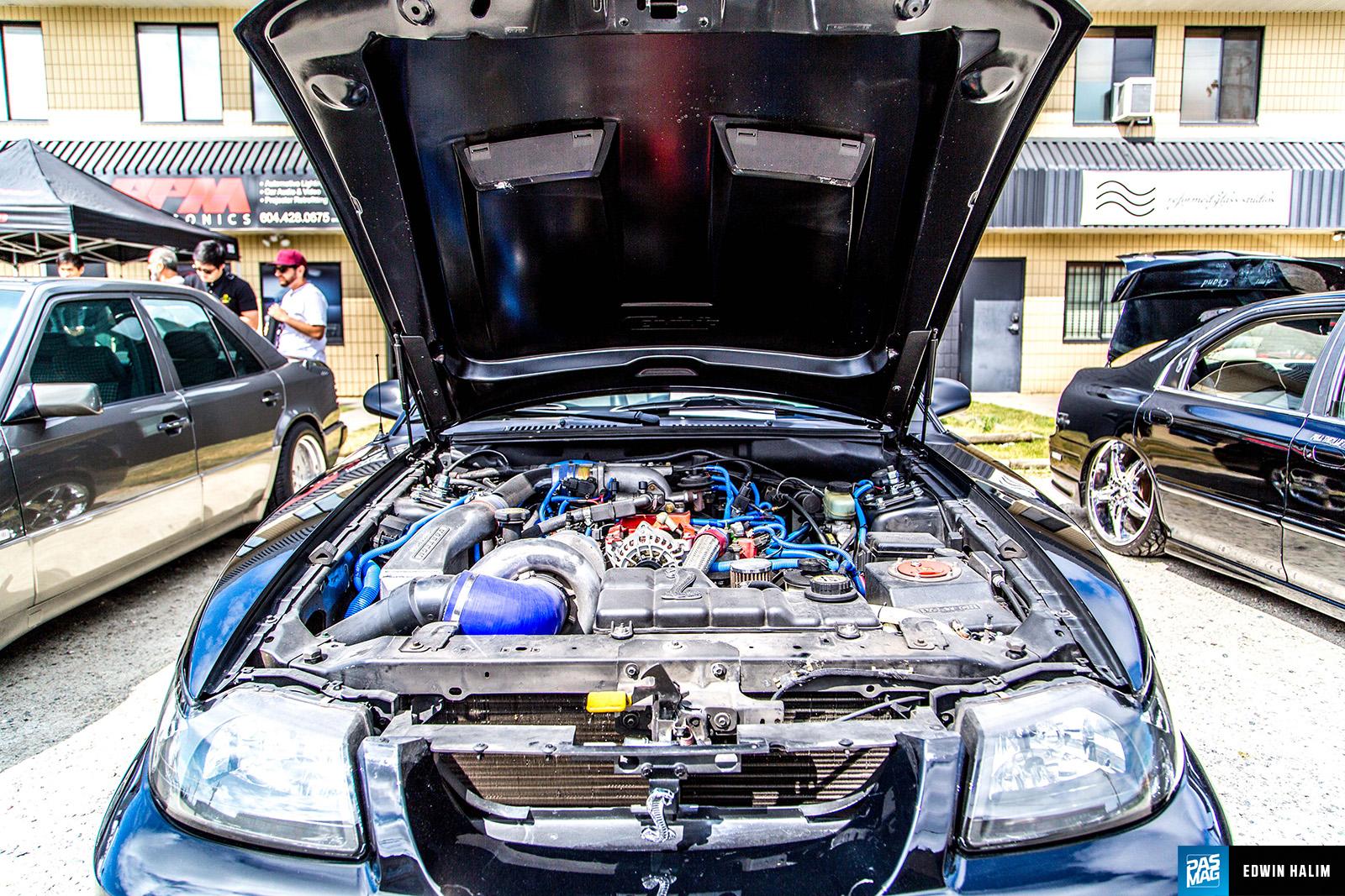 PASMAG PERFORMANCE AUTO AND SOUND RPM Show Burnaby BC - Meca car show