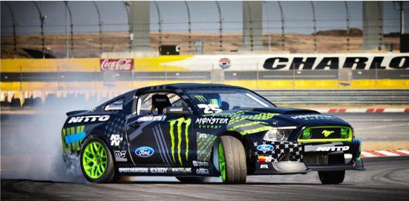 Vaughn Gittin Jr. Reveals 2013 Monster Energy Mustang RTR