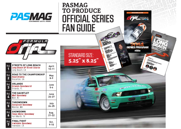 PASMAG Formula Drift Program