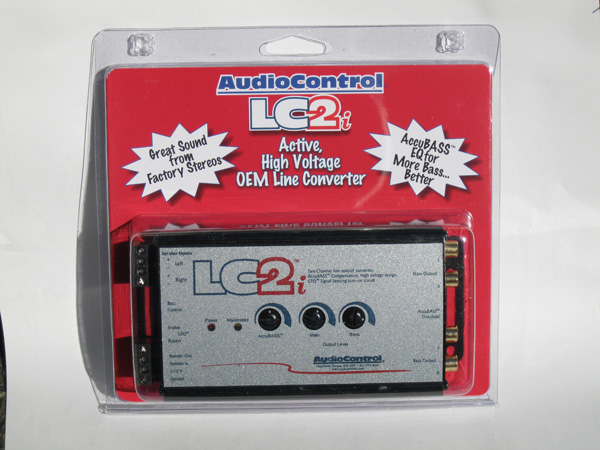 AudioControl LC2i With Packaging