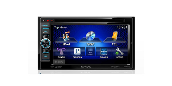 PASMAG Kenwood DDX371 In-Dash Widescreen Touchscreen Built-In DVD System AV