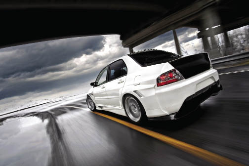 Hyper Rev: Dallin Felton's 2005 Mitsubishi Lancer Evolution VIII