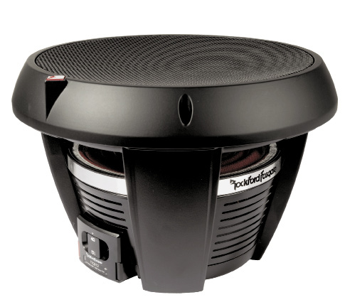 The Rockford Fosgate T1D412 subwoofer is loaded with trick and cool innovations that make the woofer easier to install, and improve its performance. The first thing you notice when you take the woofer out of the box is that it has an unusually shaped surround.
