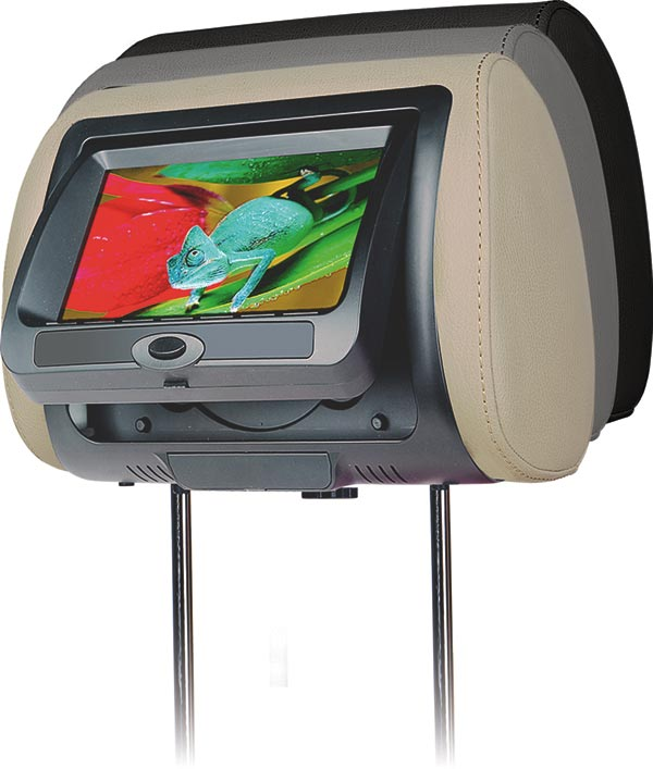 Concept Chameleon Headrest Video Screens