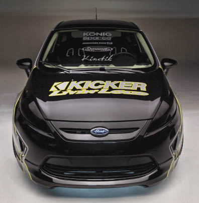 Kicking it New School: Kicker USA 2011 Ford Fiesta