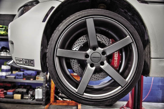 ImportFest BMW 645Ci: Stoptech Big Brake Upgrade