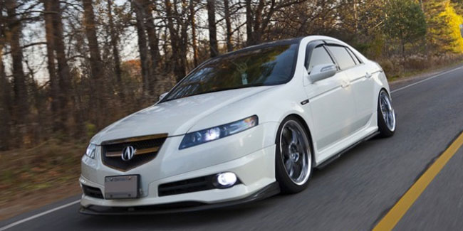 PASMAG PERFORMANCE AUTO AND SOUND Honda VIP Acura TL TypeS - 2004 acura tl front lip