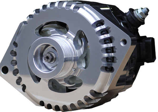 Mechman Introduces New 6 Phase Billet High Output Alternators