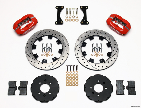 Wilwood's New Big Brake Front Hat Kits For Dodge Neon SRT-4