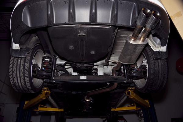 Project Forte KIA Coupe Turbokits Catback Exhaust Upgrade: KIA Forte Dual Exhaust At Woreks.co