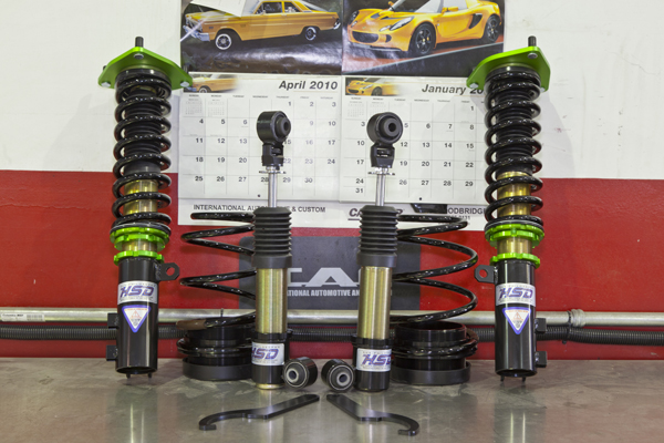 Project Forte: KIA Forte Coupe - HSD Coilover Suspension Install