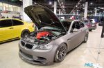PASMAG Tuner Galleria Chicago Illinois 2014 Ray Flores Red Valve Cover BMW Front