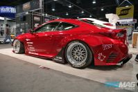 PASMAG 2015 Lexus RCF Rocket Bunny KW Suspensions Enkei Toyo  rear far