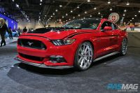 SEMA 2014 Las Vegas Ford Mustang Kompression Wheels