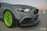 PASMAG SEMA 2014 Ford Ride Along Mustang RTR Spec 5 Concept wheel