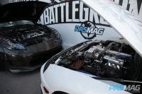 PASMAG Tuner Battlegrounds 2014 Battle for SEMA 370Z vs Supra Engines