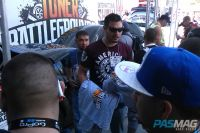 PASMAG Tuner Battlegrounds 2014 Battle for SEMA Moses Awad Shirts Giveaway