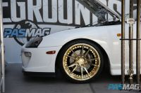PASMAG Tuner Battlegrounds 2014 Battle for SEMA Niche Road Wheels Anthony De Guzman Toyota Supra