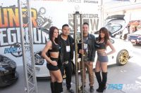 PASMAG Tuner Battlegrounds 2014 Battle for SEMA Tiffany Mikayla Anthony Chris De Guzman Tracy Nova