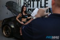 PASMAG Tuner Battlegrounds 2014 Battle for SEMA Tiffany Mikayla Nissan 370Z