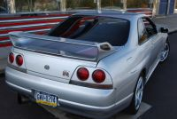 1995_Nissan_Skyline_R33_GTR_Back