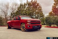 American Force Wheels 2016 Chevrolet Silverado 3500HD LTZ 36