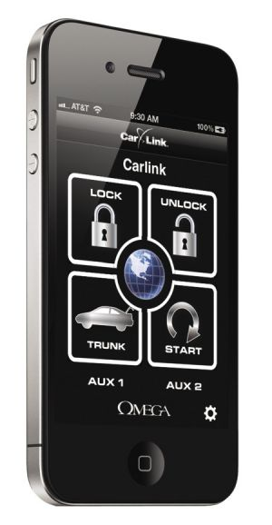 Omega  CarLink-GPS – Smartphone interface system