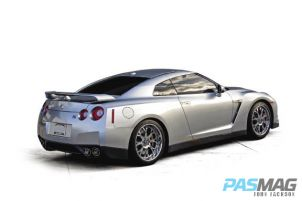 PASMAG Sherill Roberts Nissan GTR R35 Focal Audio rear