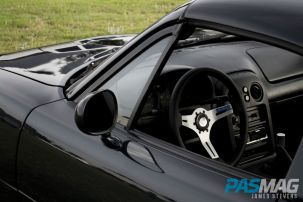 PASMAG Find Your Grip Royal Steering Wheel James Stevens 1996 Mazda Miata Class