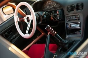 PASMAG Find Your Grip Royal Steering Wheel Jason Hellman 1991 Nissan 240sx Halo side