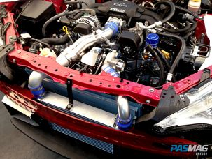 Greddy to Go: Ken Gushi Turbos his FR-S