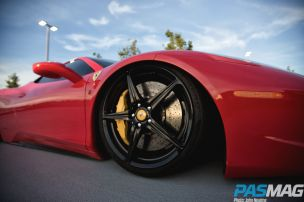 Crouching Stallion, Hidden Monster: JJ Dubec's Ferrari 458 on AirREX (Photo by John Neaime)