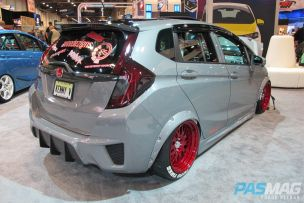 SEMA 2014 Las Vegas Honda Fit Challenge Kenny Vinces rear