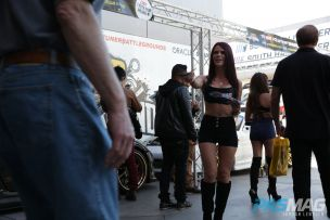 PASMAG Tuner Battlegrounds 2014 Battle for SEMA Tiffany Mikayla Handbook